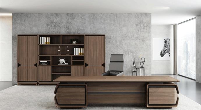 迪欧总裁办公家具-从容系列